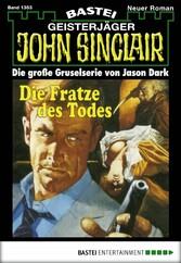 John Sinclair - Folge 1353 - Die Fratze des Todes