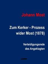 Zum Ketzer - Prozess wider Most (1878) - Vertei...