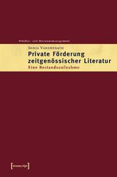 Private Förderung zeitgenössischer Literatur - ...