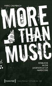 More than Music - Einblicke in die Jugendkultur...