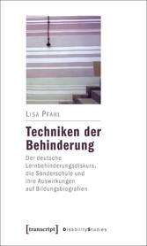 Techniken der Behinderung - Der deutsche Lernbe...