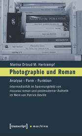 Photographie und Roman - Analyse - Form - Funkt...