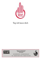 Tag, ich hasse dich - as performed by Grips Ensemble, Single Songbook