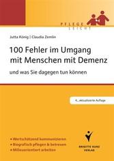 100 Fehler im Umgang mit Menschen mit Demenz - ...