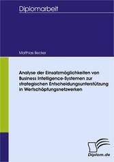 Analyse der Einsatzmöglichkeiten von Business I...