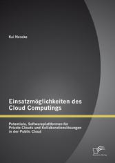 Einsatzmöglichkeiten des Cloud Computings: Pote...