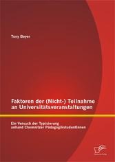 Faktoren der (Nicht-) Teilnahme an Universitäts...