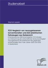 TCO Vergleich von neuzugelassenen konventionell...