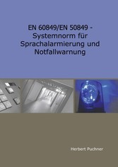 EN 60849/EN 50849 - Systemnorm für Sprachalarmi...