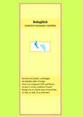 Babyglück - Gedichte-Gedanken-Gefühle