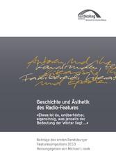 Geschichte und Ästhetik des Radio-Features - Et...