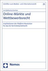 Online-Märkte und Wettbewerbsrecht - Implikatio...