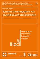 Systemische Integration von Investitionsschutza...