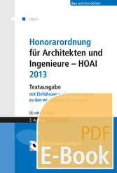 Honorarordnung für Architekten und Ingenieure -...