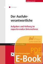 Der Ausfuhrverantwortliche (E-Book) - Aufgaben ...