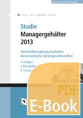Studie Managergehälter 2013 (E-Book) - Vorstand...