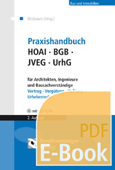 Praxishandbuch HOAI - BGB - JVEG - UrhG für Arc...
