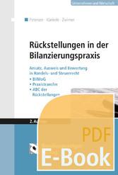 Rückstellungen in der Bilanzierungspraxis - Ans...