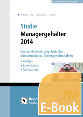 Studie Managergehälter 2014 (E-Book) - Vorstand...