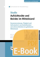Studie Aufsichtsräte und Beiräte im Mittelstand...