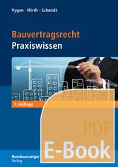 Bauvertragsrecht (E-Book) - Praxiswissen