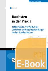 Baulasten in der Praxis (E-Book) - Tatbestände,...
