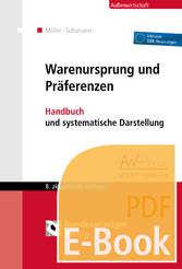 Warenursprung und Präferenzen (E-Book) - Handbu...