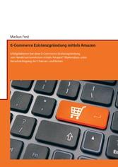 E-Commerce Existenzgründung mittels Amazon - Er...
