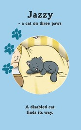 JAZZY - a cat on three paws - A disabled cat fi...