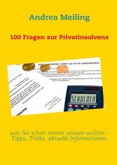 100 Fragen zur Privatinsolvenz - was Sie schon ...