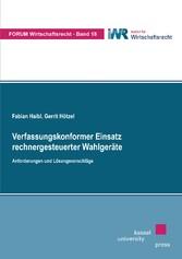 Verfassungskonformer Einsatz rechnergesteuerter...