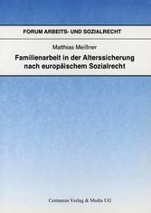 Familienarbeit in der Alterssicherung nach euro...