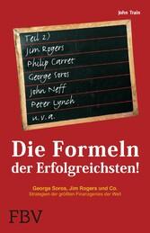 Die Formeln der Erfolgreichsten II - George Sor...