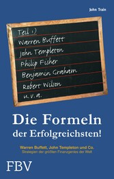 Die Formeln der Erfolgreichsten 1 - Warren Buff...