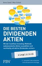 Die besten Dividenden-Aktien simplified - Mit d...