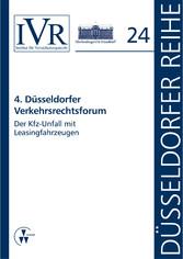 4. Düsseldorfer Verkehrsrechtsforum