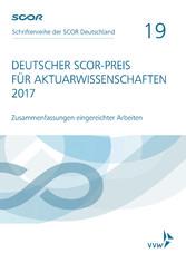 Deutscher SCOR-Preis für Aktuarwissenschaften 2...