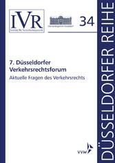 7. Düsseldorfer Verkehrsrechtsforum - Aktuelle ...