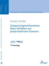 Zerspanungsmechanismen beim Schleifen von polyk...