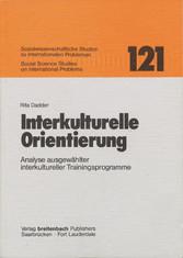 Interkulturelle Orientierung - Analyse ausgewäh...
