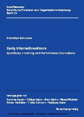 Early Internationalizers - Specificity, Learning and Performance Implications