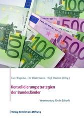 Konsolidierungsstrategien der Bundesländer - Ve...