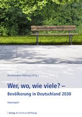 Wer, wo, wie viele? - Bevölkerung in Deutschlan...