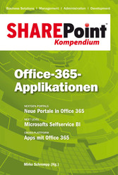 SharePoint Kompendium - Bd. 10: Office-365-Appl...