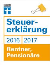 Steuererklärung 2016/2017 - Rentner, Pensionäre...