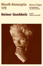 MUSIK-KONZEPTE 179 : Heiner Goebbels