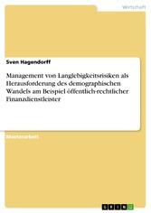 Management von Langlebigkeitsrisiken als Heraus...
