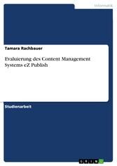 Evaluierung des Content Management Systems eZ P...