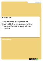 Interkulturelles Management in österreichischen...