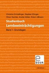 Studienbuch Lernbeeinträchtigungen, Band 1 - Ba...